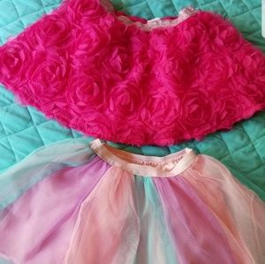 Other - Girl's tutu/skirts size 3T